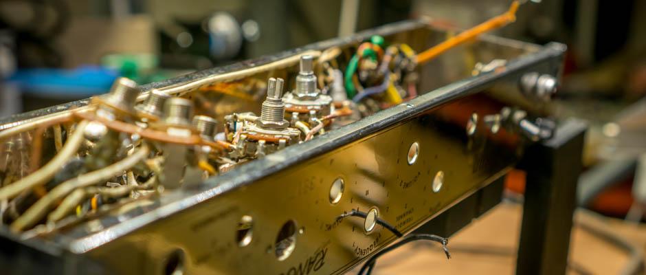 Renovering av en Gibson GA-20